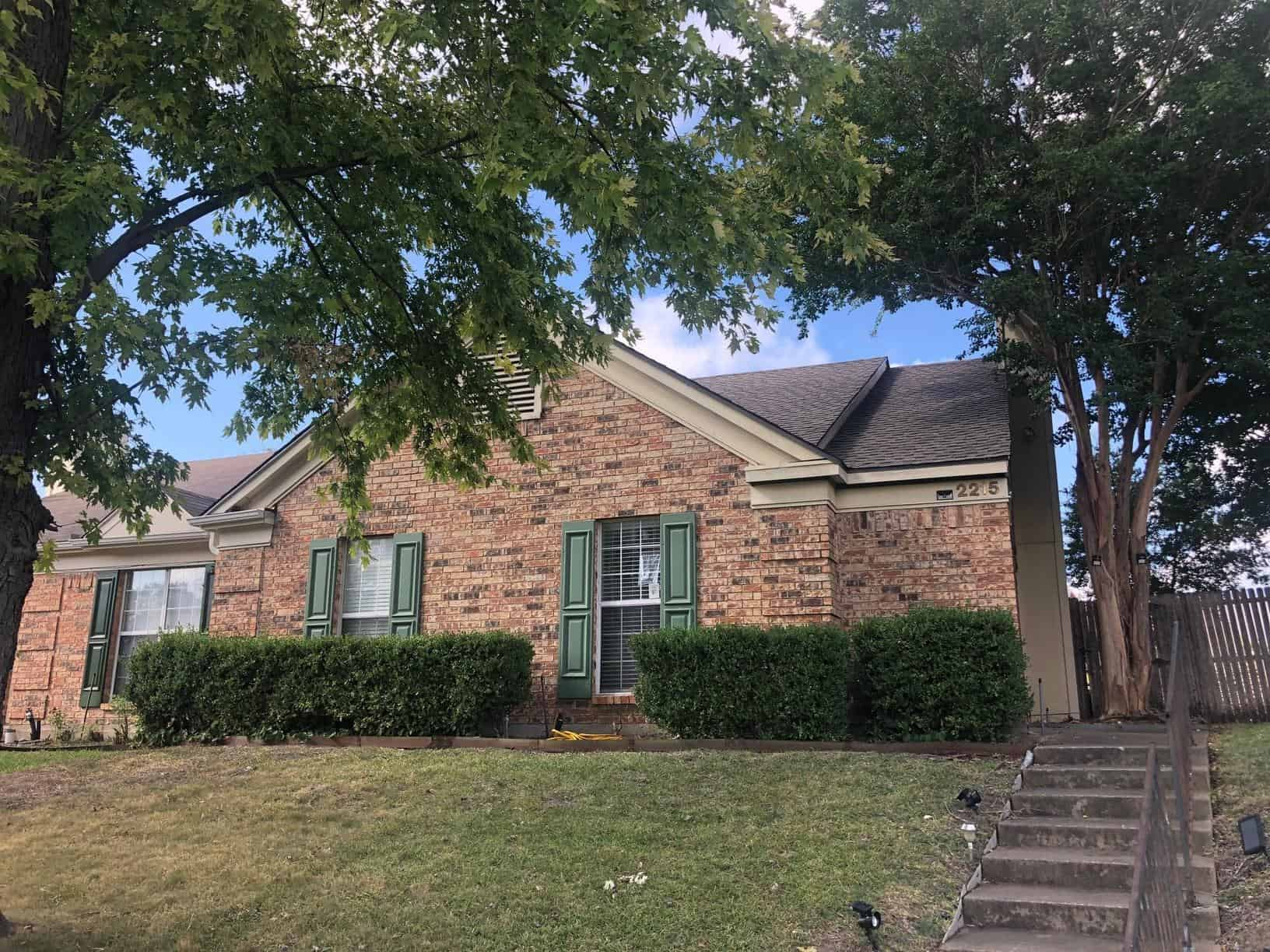 Garland, TX Roof Replacement Due to Hail - After