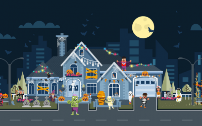 Halloween Roof Decorating Safety Tips - Image 1