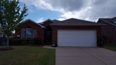 Roof Replacement in Arlington, Texas Before