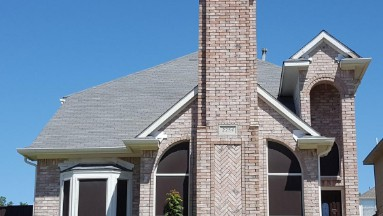 Roof Replacement in Carrolton, Texas Before