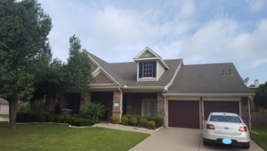 Grand Prairie Roof Replacement Before