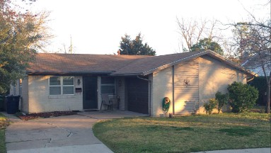 Roof Replacement in Garland, TX Before