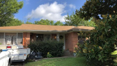 Mesquite, TX Roof Replacement due to Hail Before