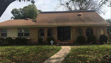 Richardson, Texas Roof Replacement Before