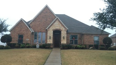 Roof Replacement in Sunnyvale, TX Before