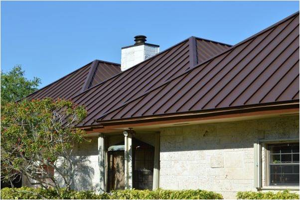 Metal Roof on a home