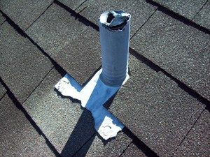 Damaged Roof Vent Repair in Greater Dallas