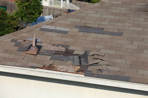 Roof Shingle Blow-off Repair in Dallas, Mesquite