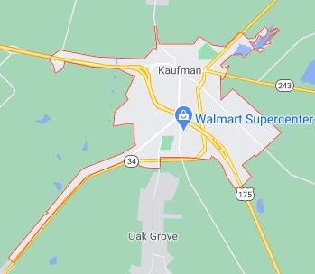 Kaufman Texas
